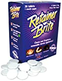 Retainer Brite Cleaning Tablets - 96 Tablet Pack - 3 Months Supply