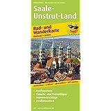 Rad- und Wanderkarte Saale-Unstrut-Land: mit Ausflugszielen, Einkehr- & Freizeittipps, Nebenkarte Ziegelrodaer Forst und Querfurt, wetterfest, reissfest, GPS-genau