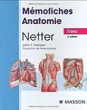 echange, troc Netter, John-T Hansen - Mémofiches Anatomie Netter : Tronc