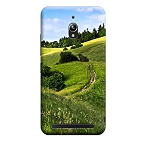 CaseLite Premium Printed Mobile Back Case Cover With Full protection For Asus Zenfone Go (Designer Case)