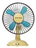 グリーンハウスUSB扇風機 クラッシックブルーGH-USB-FANCB