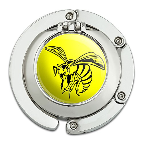 bee-wasp-hornet-foldable-table-bag-purse-caddy-handbag-hanger-holder-hook-with-folding-compact-mirro