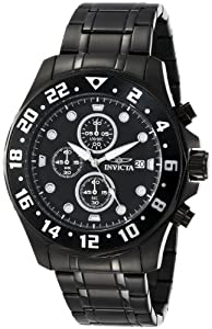 Invicta Men's 15945 Specialty Analog Quartz Black Sport Watch