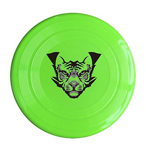 YYHU - Plastic Doubutsu Sentai Zyuohger Zyuoh Tiger Logo Frisbee Disk/disc - KellyGreen
