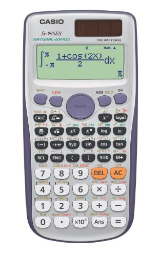 CASIO Casio function calculator 572 function / features number of mathematical natural view fx-995ES-N silver