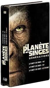 La Planète des singes : les versions 1968, 2001 et 2011 [Édition Limitée boîtier SteelBook]