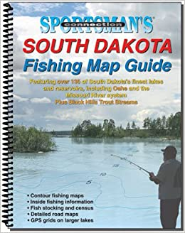 south dakota fishing map guide sportsman 39 s connection