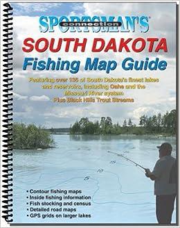 south dakota fishing map guide sportsman 39 s connection