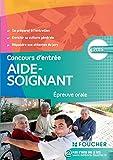 Aide-Soignant Epreuve orale Concours d'entrée 2015...