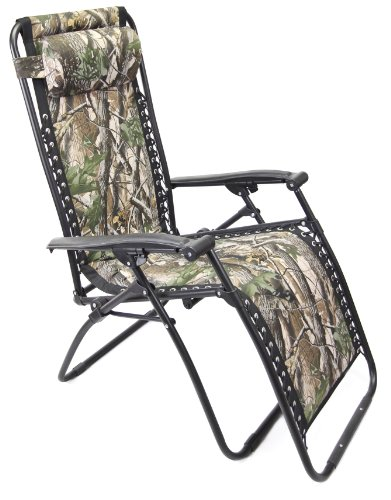 Jordan 3K-GRAVCAMO1 Camo Material Chair with Black Frame, 18-Inch by 19-Inch by 44-Inch
