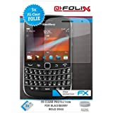 "atFoliX Displayschutzfolie f�r Blackberry Bold 9900 (3 St�ck) - FX-Clear: Displayschutz Folie kristallklar! H�chste Qualit�t - Made in Germany!von ""Displayschutz@FoliX"""