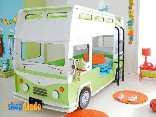 Etagenbett Autobett : Etagenbett autobett bussy kinderbett mit licht