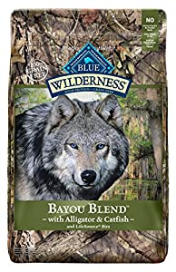 Wilderness Blue Buffalo Bayou Blend Dog Food, 22 lb