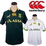 canterbury カンタベリー 半袖 Tシャツ ジャージ 素材 メンズ SOUTH AFRICA RUGBY JERSEY ホワイト Lサイズ 並行輸入品 VITA378-WH-L