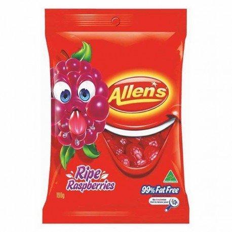 allens-ripe-raspberries-190g