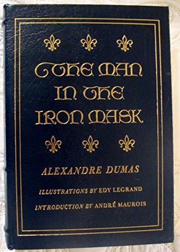 The Man in the Iron Mask - Alexandre Dumas - Easton Press - Edy Lagrand Illustrations - Andre Maurois (Easton Press Man In The Iron Mask compare prices)