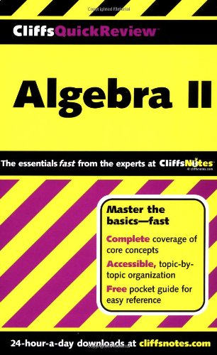 Algebra II (Cliffs Quick Review)
