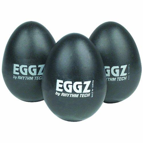 Rhythm Tech Rt 2110 Eggz Shakers - Black, 24-Pack front-226222