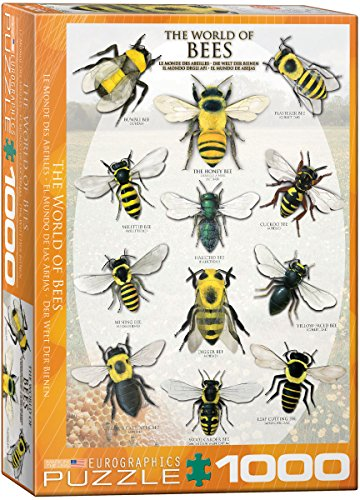 EuroGraphics The World of Bees 1000 Piece Puzzle