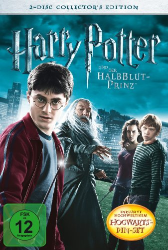 Harry Potter und der Halbblutprinz (Collector's Edition inkl. Hogwarts-Pin-Set) [2 DVDs]