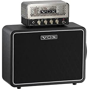 Vox NT2/V110NT Lil' Night Train Set Tube Guitar Half Stack Black