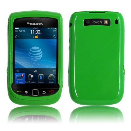 Cbus Wireless Matcha Green Tea Tpu Flex-Gel Case / Skin / Cover For Blackberry Torch 9800 / Torch 9810 / 9810 4G / Torch 2
