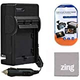Big Mike'S Vw-Vbk180 Vbk360 Battery Charger For Panasonic Hc-V10 Hc-V100 Hc-V110 Hc-V210 Hc-V500 Hc-V700 Camcorder + More!!