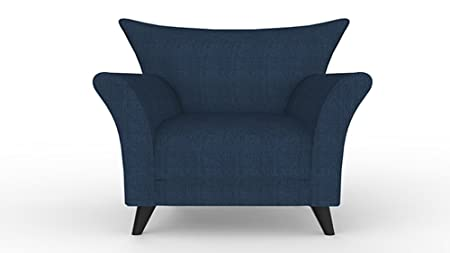 Cari Sessel blau, Polstersessel, Loungesessel, clubsessel, designer sessel,