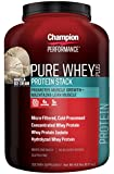 Champion Nutrition Pure Whey Plus Vanilla Ice Cream -- 4.8 lbs