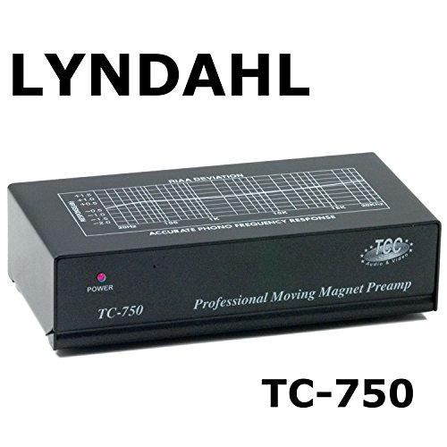 Lyndahl Entzerrer-Vorverstärker TC750 MKII mit EUP2 Netzteil für Plattenspieler und Verstärker ohne Phonoanschluss. Phono-Vorverstärker