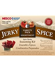 Nesco BJV-6 Jerky Spice Works, 6 Flavors, Variety-Pack by Nesco