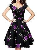 ブルーミン ゼリーBlooming Jellyレディーズレトロクラシック花プリントエレガントワンピースドレス ランキングお取り寄せ