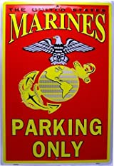 US Marines Parking Only Sign