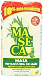 Flour made from ground, dried corn. Ideal to make masa harina (dough) for tortillas, sopes and empanadas. Maseca Instant Corn Masa Mix is a product from Azteca Milling Co.