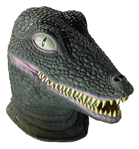 Forum Novelties Men's Deluxe Adult Latex Crocodile Mask