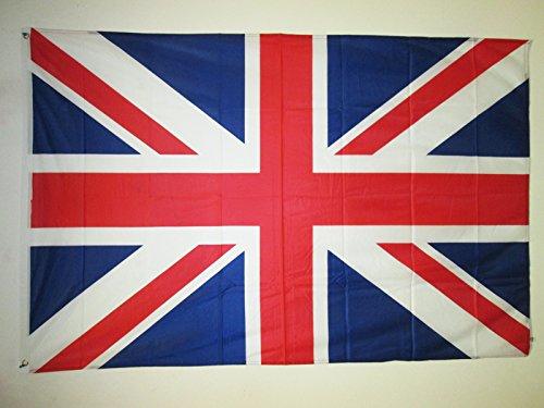 BANDIERA REGNO UNITO 150x90cm - BANDIERA BRITANNICA - INGLESE - UK 90 x 150 cm speciale esterno - AZ FLAG