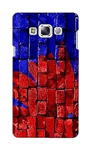 CimaCase Bricks Designer 3D Printed Case Cover For Samsung Galaxy E7