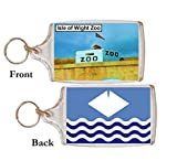 Isle of Wight Zoo Great Quality Souvenir Keyring