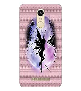 PrintDhaba Angel D-3549 Back Case Cover for XIAOMI REDMI NOTE 3 MEDIATEK (Multi-Coloured)