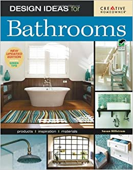 Design ideas for bathrooms 2nd edition home decorating ms susan boyle hillstrom home Bathroom design pictures books