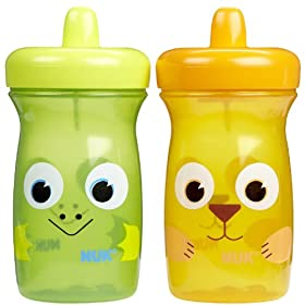 Gerber Graduates BPA Free 2 Pack Sip and Smile Spill Proof Cup, 10 Ounce, Colors May Vary (Discontinued by Manufacturer)