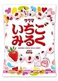サクマ製菓 いちごみるく 115g×10袋