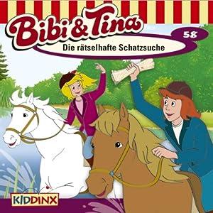 Die rätselhafte Schatzsuche (Bibi und Tina 58) Hörspiel