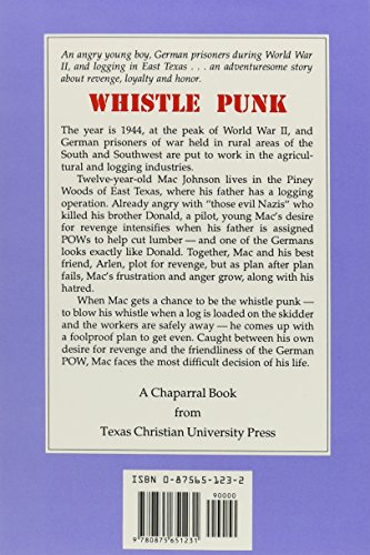 Whistle Punk (A Chaparral Book for Young Readers)