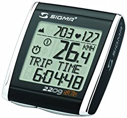 Sigma BC 2209 STS Triple Wireless + Alt Bicycle Speedometer by SIGMA