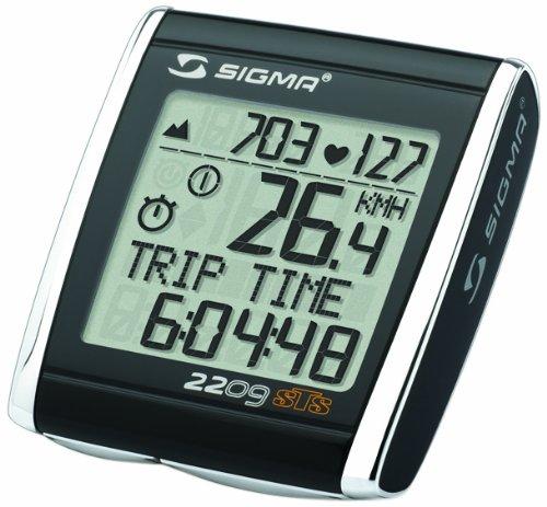 Sigma BC 2209 STS Triple Wireless + Alt Bicycle Speedometer