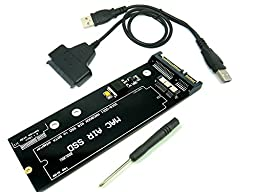 18-Pin to SATA Adapter with Usb SATA Cable for SSD From 2010-2011 Macbook AIR A1369 A1370 A1377