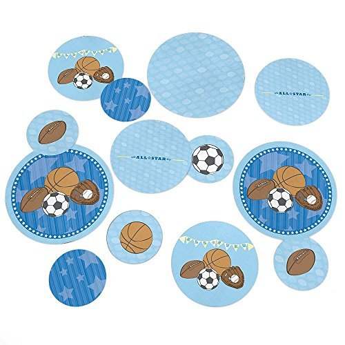 All Star Sports - Party Table Confetti - 27 Count