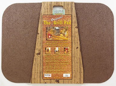DiversiTech GP-42-C 30- by 42-Inch Original Grill Pad, Brown Rectangle