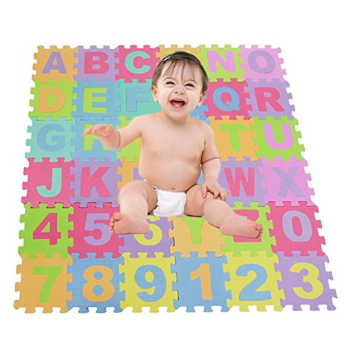 eshion-36-Piece-ABC-Foam-Mat-Alphabet-Number-Puzzle-Play-Flooring-Mat-for-Children-Kids-Toddlers